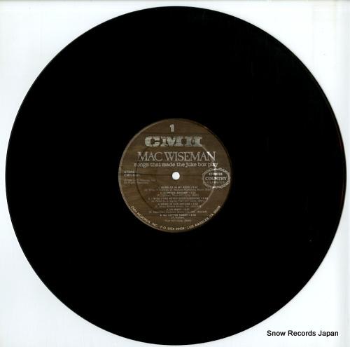 WISEMAN, MAC songs that made the juke box play CMH-9021 - disc