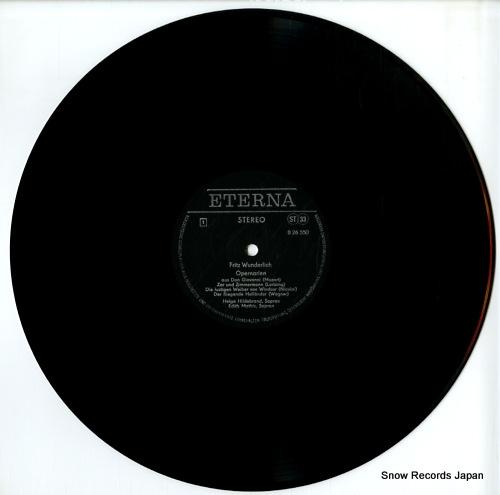 WUNDERLICH, FRITZ opernarien 826550 - disc
