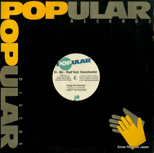 H-BE-BAD keep on moving POP-13 - front cover