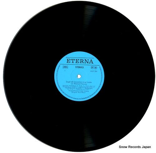 JERUSALEM, SIEGFRIED r.strauss; lieder 827784 - disc