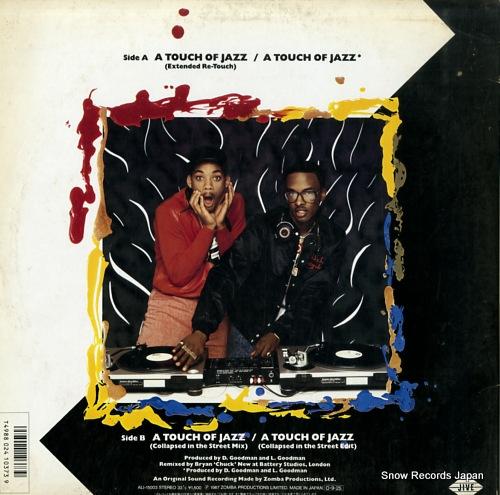 DJ・ジャジー・ジェフ&ザ・フレッシュ・プリンス touch of jazz ALI-15003