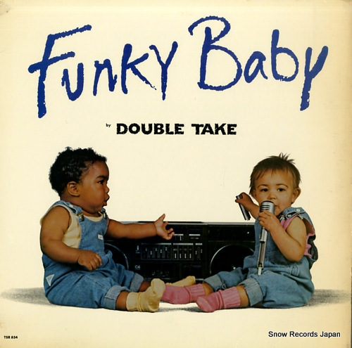 DOUBLE TAKE funky baby TSR854 - front cover