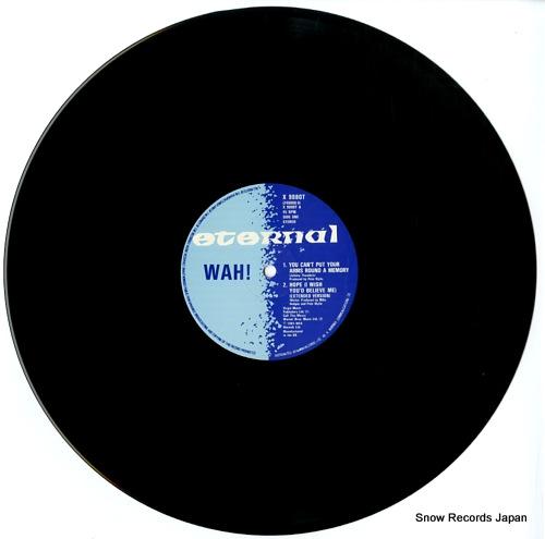 WAH! hope (i wish you'd believe me) X9880T - disc