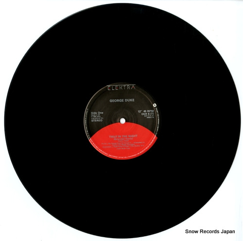 DUKE, GEORGE thief in the night EKR5T / 966911-0 - disc