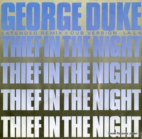 DUKE, GEORGE thief in the night EKR5T / 966911-0 - front cover