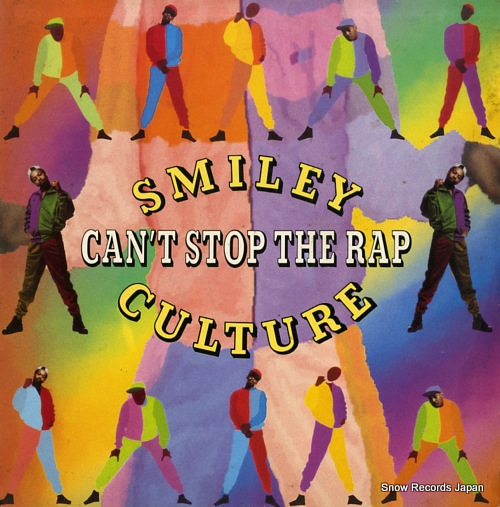 SMILEY CULTURE can't stop the rap 12SBK7 - front cover