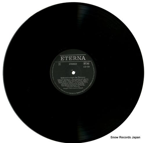 V/A weihnachtssingen der thomaner 827400 - disc