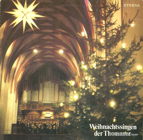 V/A weihnachtssingen der thomaner 827400 - front cover