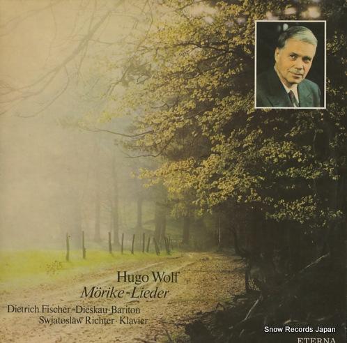 FISCHER-DIESKAU, DIETRICH hugo wolf; morike-lieder 827865 - front cover