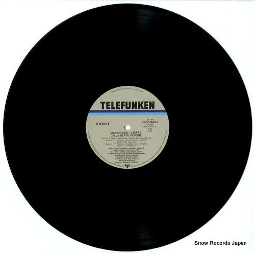 JURGENS, JURGEN monteverdi; vespro della beata vergine K20C-8406/7 - disc