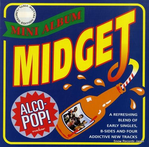 MIDGET alco-pop! TINYMLP5 - front cover