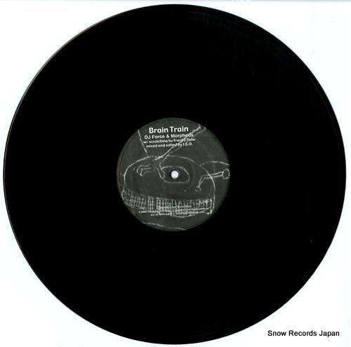 DJ FORCE AND MORPHEUS brain train GK2323 - disc