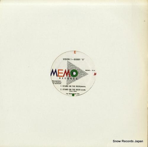 ヴィジョン1&ボビー・オーランド stand on the rock MEMO-70