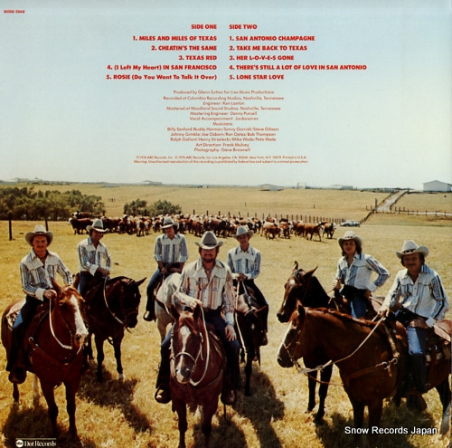 STEAGALL, RED texas red DOSD-2068 - back cover