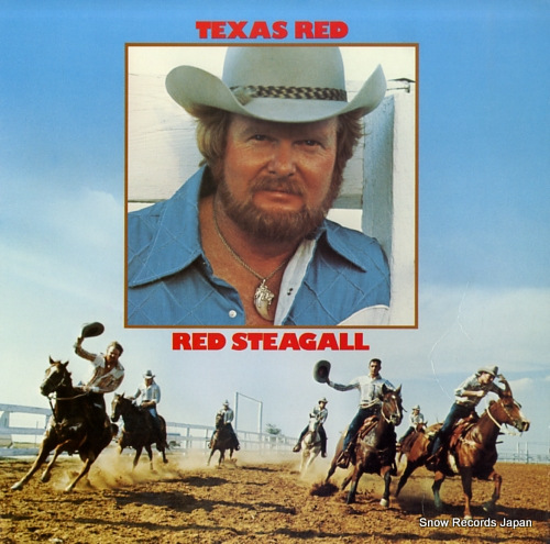 STEAGALL, RED texas red DOSD-2068 - front cover