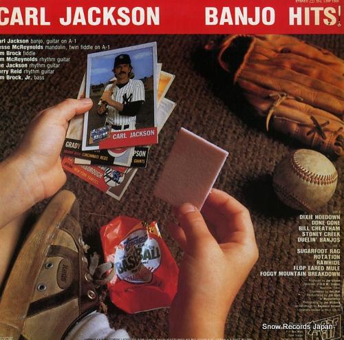 JACKSON, CARL banjo hits L20P-1200 - back cover