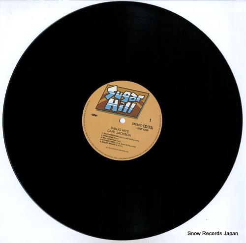 JACKSON, CARL banjo hits L20P-1200 - disc