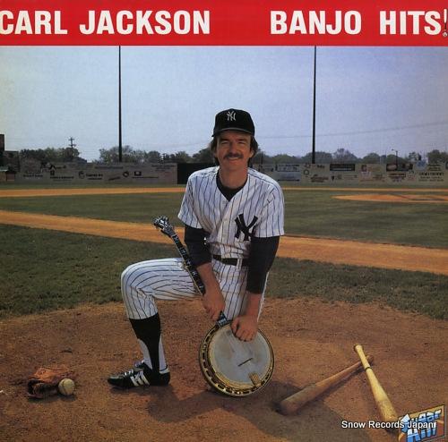 JACKSON, CARL banjo hits L20P-1200 - front cover