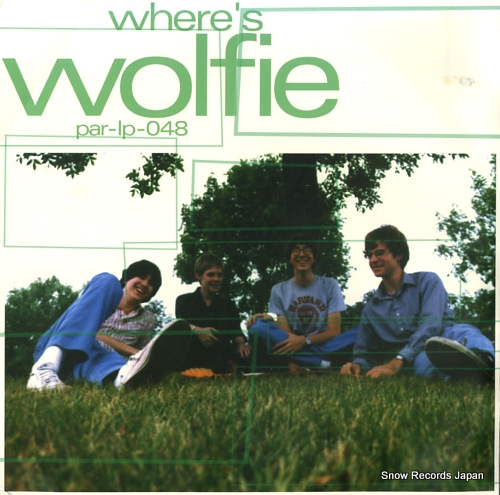WOLFIE where's wolfie PAR-LP-048 - front cover