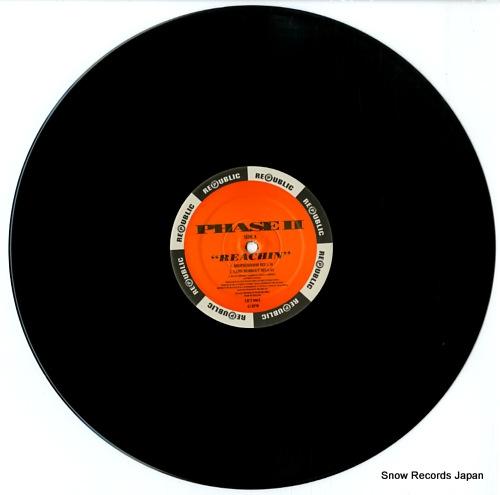 PHASE II reachin' / it's a mystery LICT006X - disc