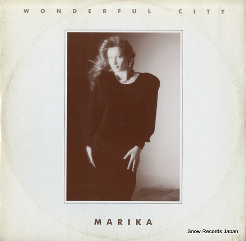 MARIKA wonderful city OUT3169 - front cover