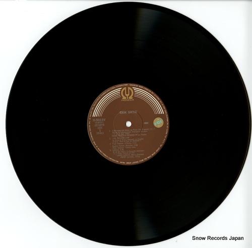 GLAZER, FRANK music of erik satie H-5015V - disc