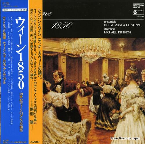 DITTRICH, MICHAEL vienne 1850 dances VIC-2298 - front cover