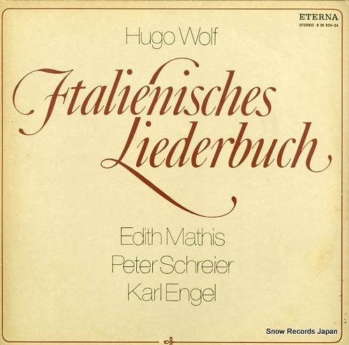 MATHIS, EDITH / PETER SCHREIDER hugo wolf; italienisches liederbuch 826923-924 - front cover