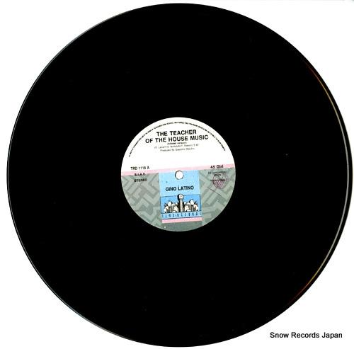 GINO LATINO the teacher of the house music TRD1118 - disc