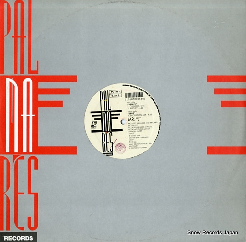 MR.J zeus / venus PL367 - front cover