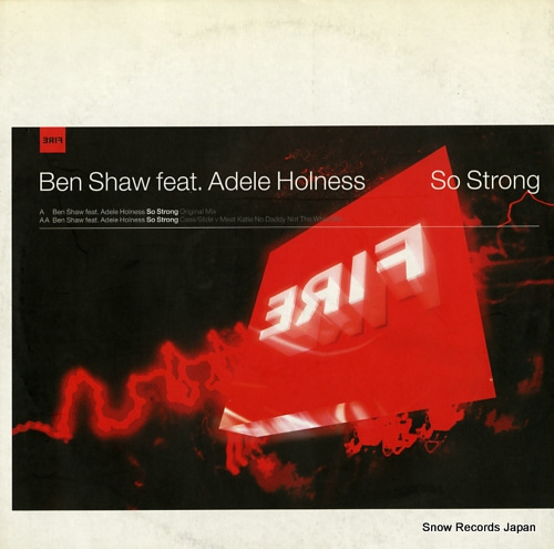 SHAW, BEN so strong ERIF009 - front cover