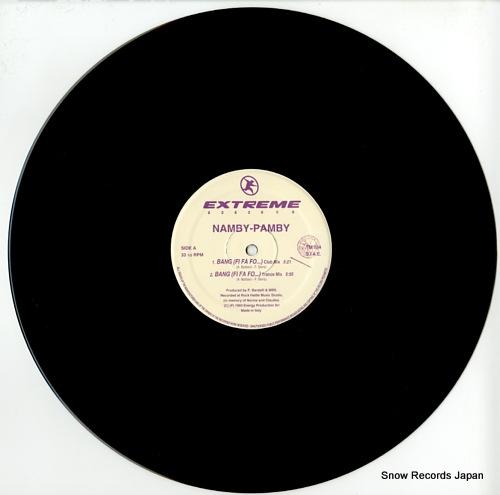 NAMBY-PAMBY bang(fi fa fo) TM034 - disc
