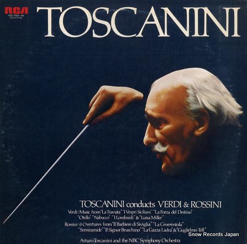 アルトゥーロ・トスカニーニ トスカニーニ/ヴェルディ&ロッシーニ名演集 RGC-7593-94