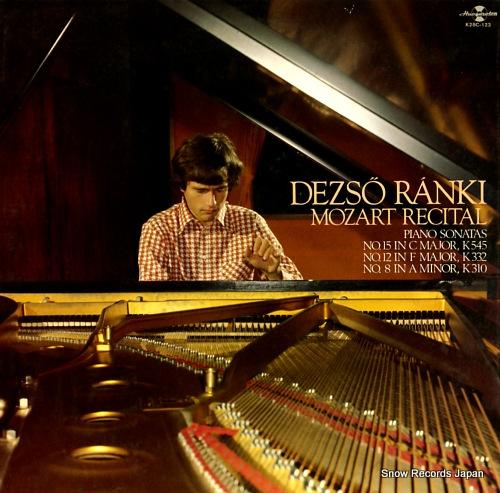 RANKI, DEZSO mozart recital K28C-123 - front cover