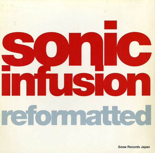 SONIC INFUSION reformatted VISION40 - front cover