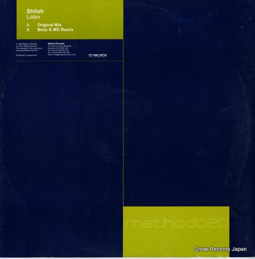 SHILOH latex METHOD020 - back cover