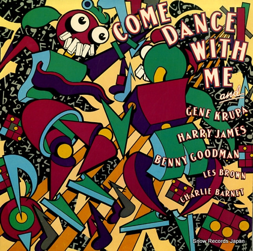 V/A come dance with me JC36743 - front cover
