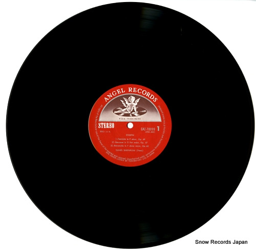 BARENBOIM, DANIEL chopin; fantaisie EAC-70099 - disc