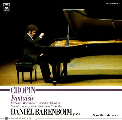 BARENBOIM, DANIEL chopin; fantaisie EAC-70099 - front cover