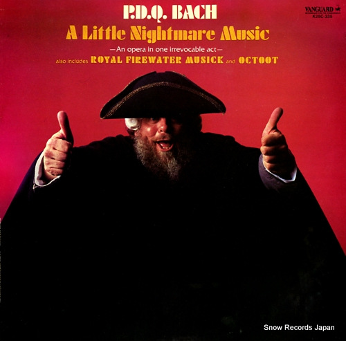 PETER, SCHICKELE p. d. q. bach; a little nightmare music K25C-335 - front cover