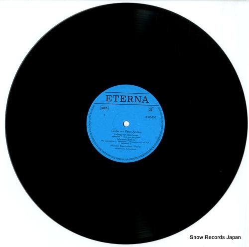 ANDERS, PETER lieder von beethoven, brahms, schumann, wolf und r.strauss 822610 - disc