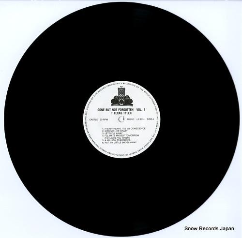 TYLER, T TEXAS gone but not forgotten vol.4 CASTLELP8014 - disc