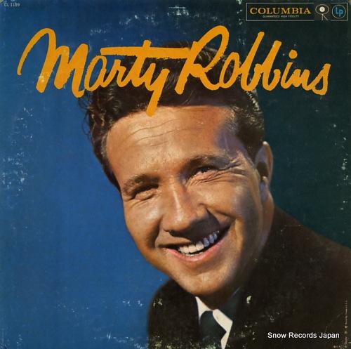 マーティ・ロビンス - marty robbins - CL1189 - レコード・データベース