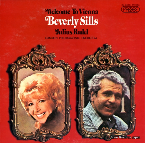 SILLS, BEVERLY welcome to vienna IPA-80061 - front cover