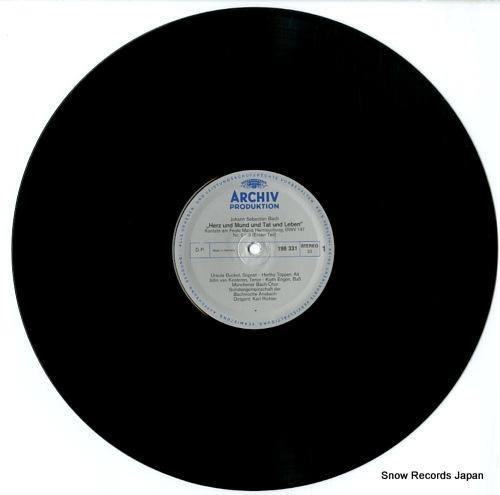 RICHTER, KARL bach; herz und mund and tet und leben 198331 - disc