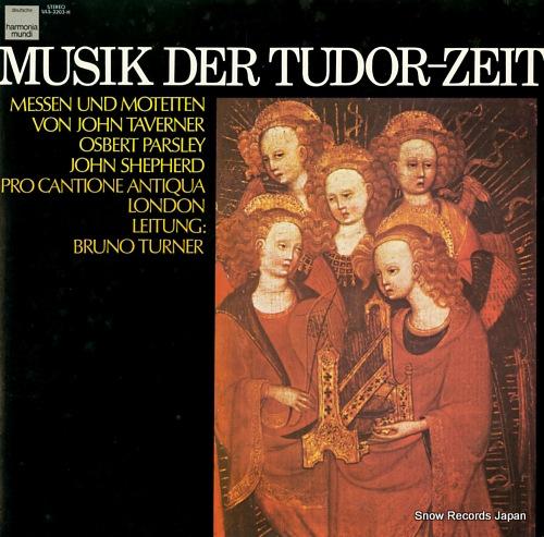 TURNER, BRUNO musik der tudor-zeit ULS-3203-H - front cover
