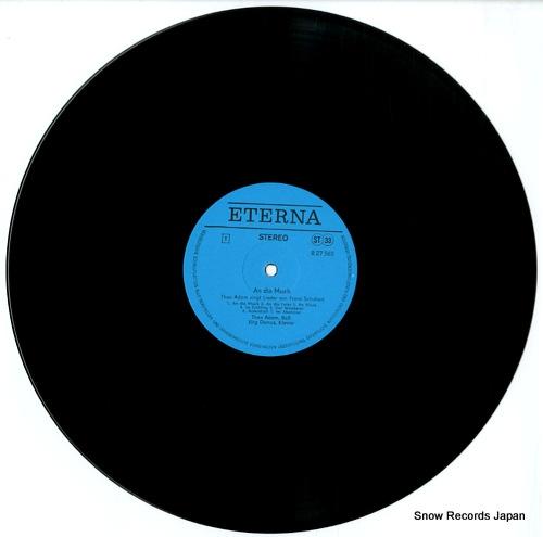 ADAM. THEO schubert; an die musik 827565 - disc