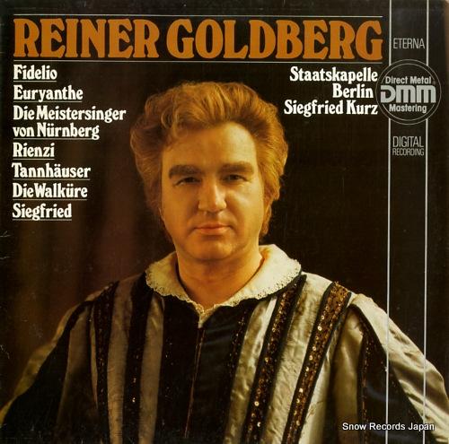 GOLDBERG, REINER reiner goldberg 725015 - front cover
