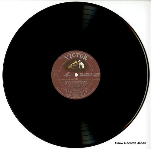 ROZHDESTVENSKY, GENNADY sibelius; pelleas and melisande, op.46 VIC-5117 - disc