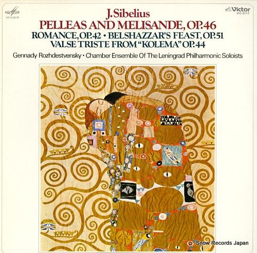 ROZHDESTVENSKY, GENNADY sibelius; pelleas and melisande, op.46 VIC-5117 - front cover